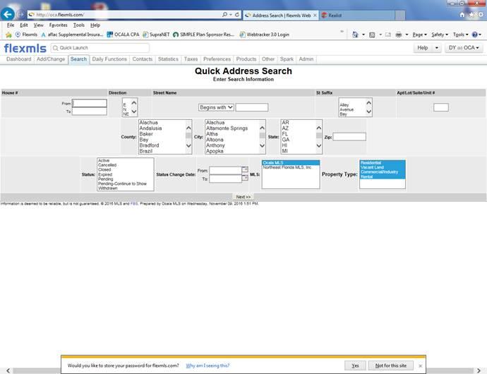 address-search
