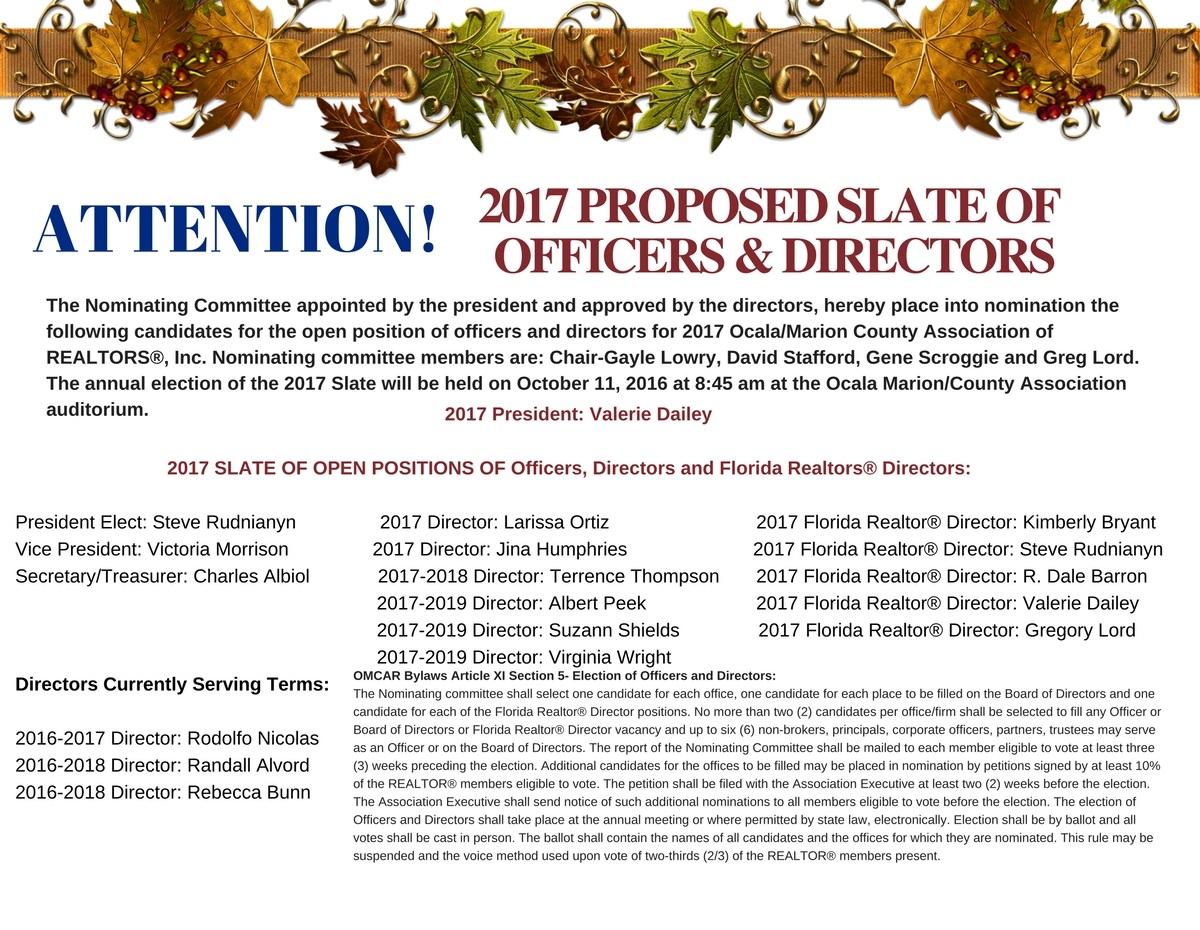 OMCAR-Election-Slate-Website-Banner