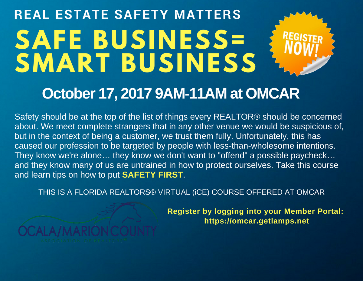 Realtor-Safety-Smart-Business-Website-Banner